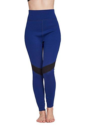 Nota: Este pantalón se ajusta muy ajustado cuando está seco. Se perderá en agua. Esto es para mantenerte caliente en el agua; ajuste ajustado evita que el agua flote dentro y fuera. Ajuste muy suave y cómodo. Protección solar UPF 50+. Diseño ajustado...