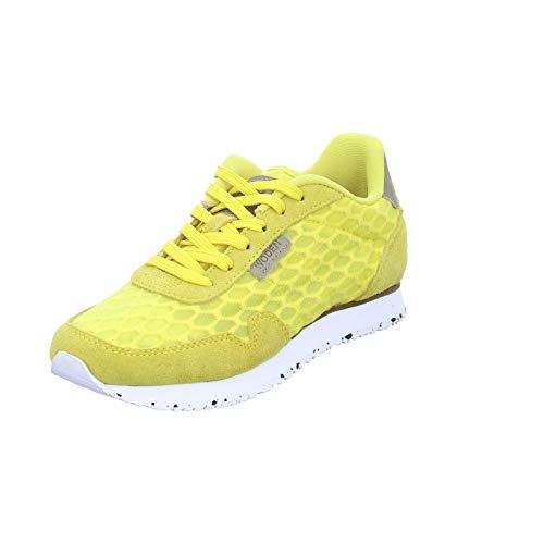 Woden Sneakers Nora II Mesh 39, 607 Super Lemon