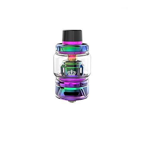 Original Uwell Crown 4/IV Tank 6ml Innovative Patentierte Selbstreinigungstechnologie, Kein Durchsickern- Ohne Nikotin Ohne Tabak (Iridescent) …