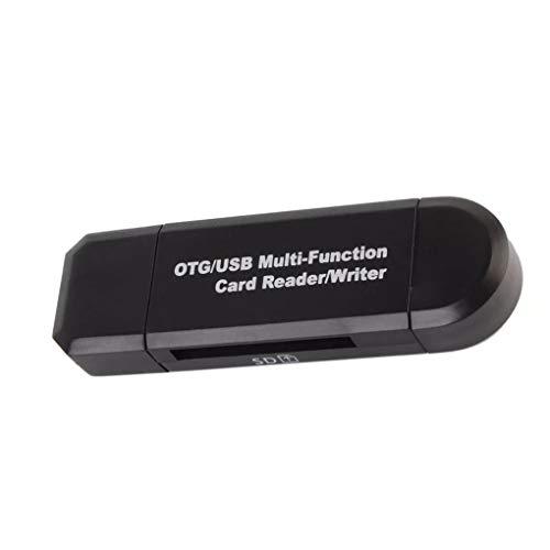 Beaums Speicherkartenleser Mini-USB 2.0 OTG Mikro-SD/SDXC TF-Kartenleser-Adapter PC Laptop-Computer-Zubehör