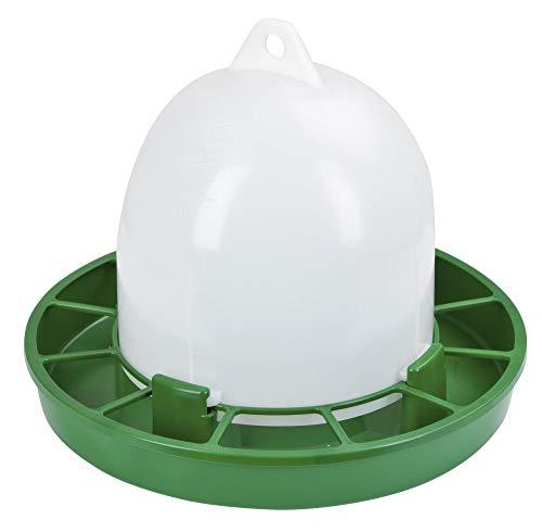 Kerbl Futterautomat (Inhalt 2,5 kg, für Wachteln, Ziergeflügel, Zwergküken, Automat mit Bajonett-Verschluss, aufklemmbarer Grill verhindert Futterverschwendung, lebensmittelecht) 70263