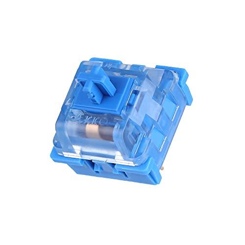 EPOMAKER AKKO CS Custom Series Tactile Ocean Blue, 55gf, 3 Pin Switch, 45 Pieces (AKKO Ocean Blue)