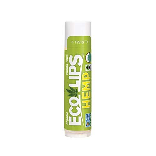 Organic Lip Balm Hemp Vanilla Mint ECO LIPS .15 oz Lip Balm