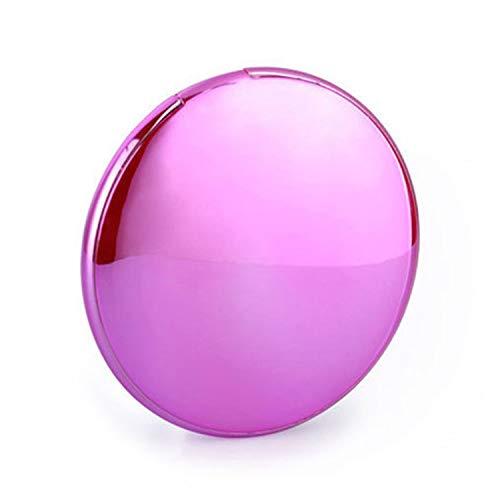 WENMWLadies Speciale Make-up Spiegel Draagbare oplader, Ultra-Compact 4000Mah Externe Batterij met Fast-Charging Technology, Power Bank voor Iphone, Ipad, Samsung Galaxy En Meer, roze