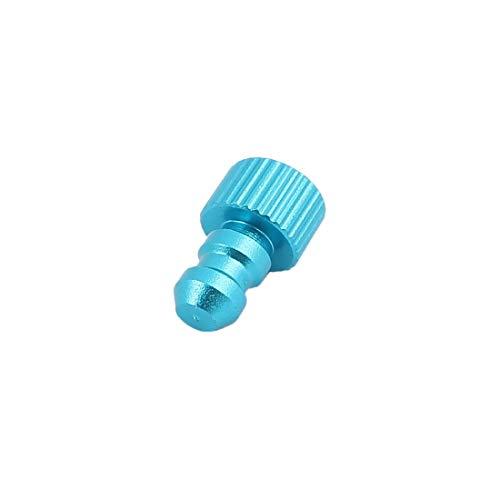 New Lon0167 Conector de Destacados aceite del compresor eficacia confiable de aire del tapón del tubo de combustible del metal del hilo macho de 4 mm(id:23f 8d 18 0d4)