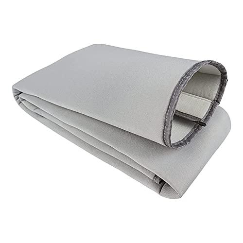 Bomoya - Copertura per tubo per condizionatore d'aria portatile, isolamento termico, protezione universale antipolvere per tubi di scarico con diametro di 12,7 cm e 15 cm