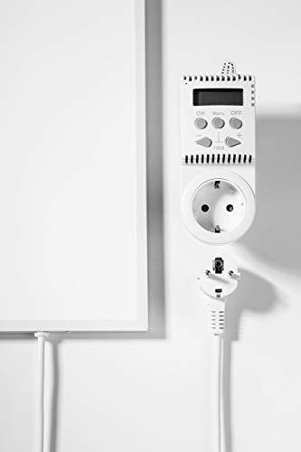 Infrarot Heizung Elektroheizung mit Stecker Bild 2*
