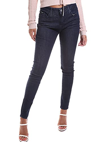 Gas Jeans 355652 020825 28 86286 Skinny Jeans, Blu, W28/L28 (Taglia Produttore:32) Donna