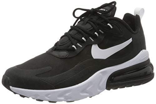 Nike Air MAX 270 React, Zapatillas de Gimnasio para Hombre, Nero Black White Black, 46 EU
