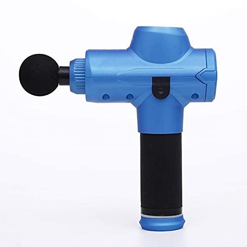 KDMB Pistola de Masaje Fitness Silent Fascia Gun Masajeador eléctrico de relajación Muscular Masaje científico de Alta frecuencia Motor Potente Ácido láctico exprimidoC