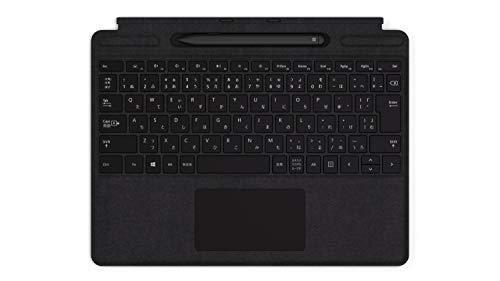 マイクロソフト Surface Pro X Signature キーボード スリム ペン付き/ブラック QSW-00019