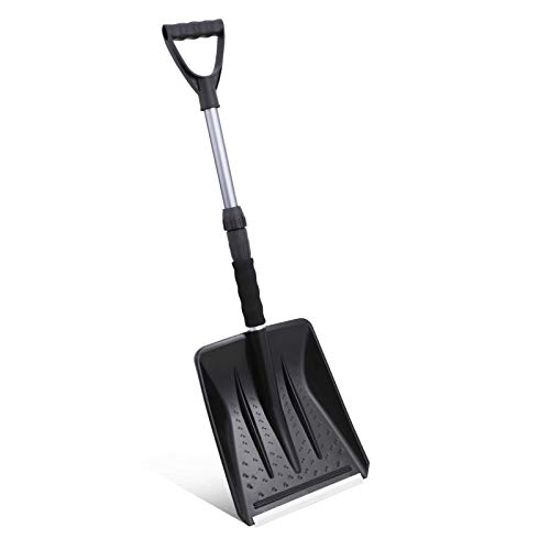 HXS Snow Shovel Portable Shovel with Adjustable...