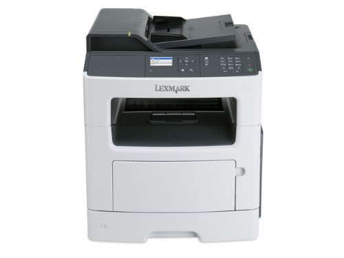 Lexmark MX310dn Compact All-In One Monochrome Laser Printer, Network Ready, Scan, Copy, Duplex Printing and Professional Features (Renewed) Photo #2