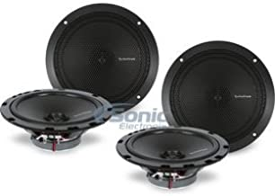 """$119 » Sponsored Ad - Two Pairs of Rockford Fosgate R1675X2 Four 6-3/4"""" 2-Way PRIME Series Coaxial Car Speakers"""