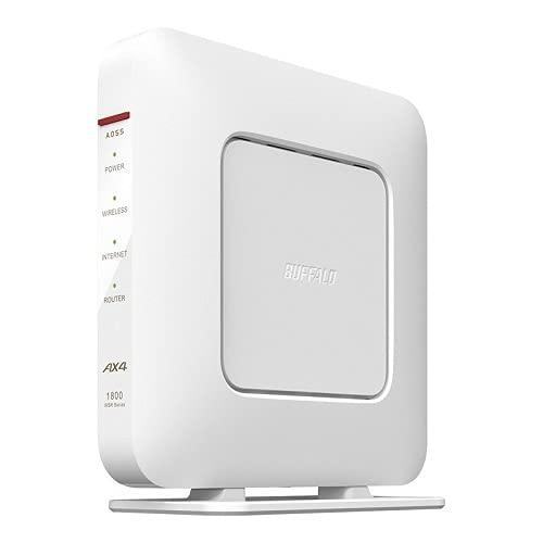 WSR-1800AX4S/DWH [Wi-Fi 6(11ax)対応Wi-Fiルーター 1201+573Mbps AirStation]