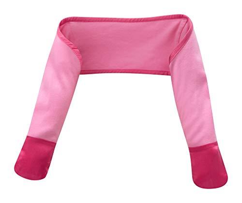 ScratchSleeves | Kratzhandschuhe mit Ärmeln für juckreizgeplagte Babys | Rosa | 6-9m