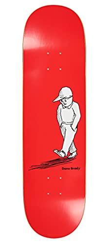 Polar Skate Co. Alone Dane Brady Red Deck 8.5