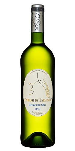 Cyrano de Bergerac Bergerac AOC 2019 vino blanco seco (1 x 0,75 l)