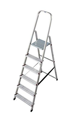 KRAUSE Corda Stehleiter, 6 Stufen, 000736