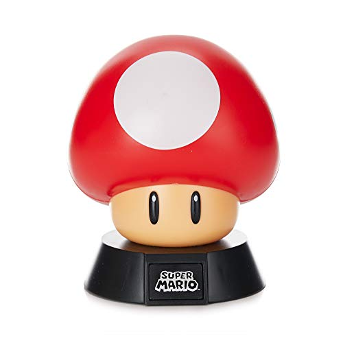 Super Mario Mushroom 3D Leuchte Icon Light