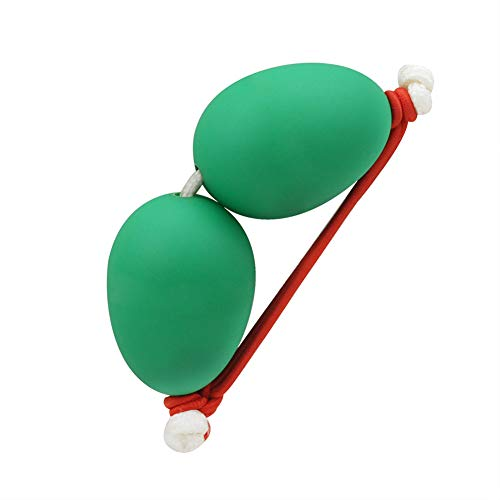 N/A NIEUWE 1 Paar Pols Zand Ei Afrikaanse Trommel Ukulele Toegewijde Begeleiding Shakers Ritme Instrument Zand Ei, Groen
