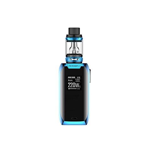 Vaporesso Revenger X e-Cigarette (Azul) Kit 220w con NRG Mini Tanque 2ml, Este producto no contiene nicotina ni tabaco