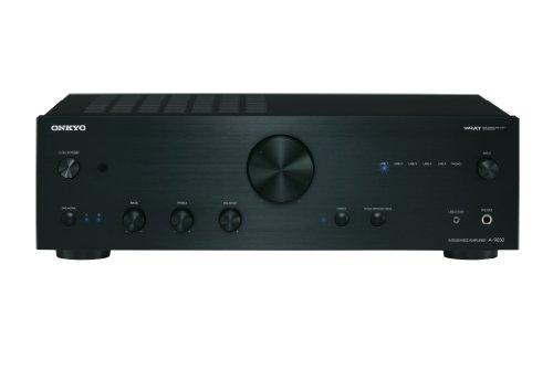 Onkyo A-9030 Amplificatore Integrato Stereo, 2 Canali, 65W per canale, 8 Ohm, Nero