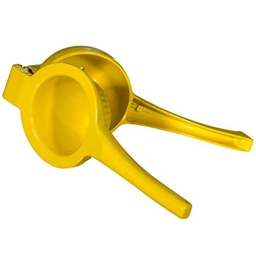 SIDCO Orangenpresse manuelle Zitruspresse Zitronenpresse Saftpresse Metall Entsafter gelb