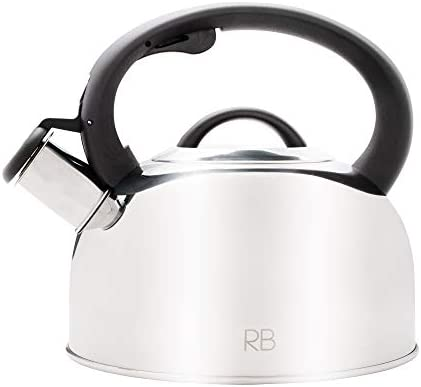 Tea Kettle for Stove Top 2 6 Quart Food Grade Stainless Steel Tea Kettle with Safe to Touch product image