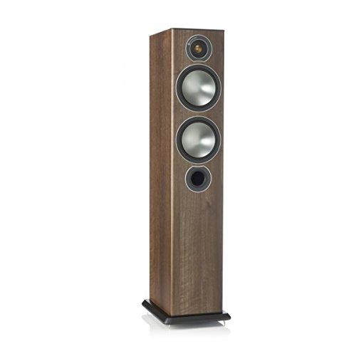 Monitor Audio Bronze Series 5 2 1/2 Way Floorstanding Speaker - Each - Walnut