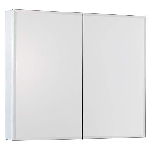 Movo 30 inch X 26 inch Double Doors Medicine Cabinet with Mirror -