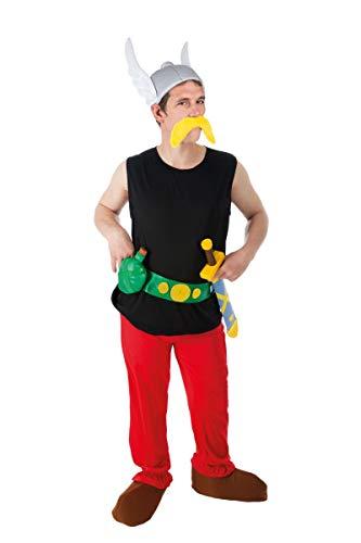 Chaks–Kostüm–Kostüm Asterix 9-teilig.