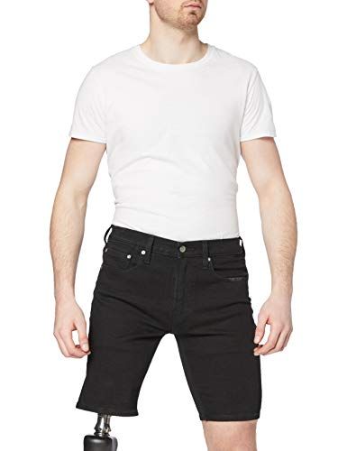 Levi's 204 Standard Pantaloncini, all Black ADV Short, 25W / 10L Uomo
