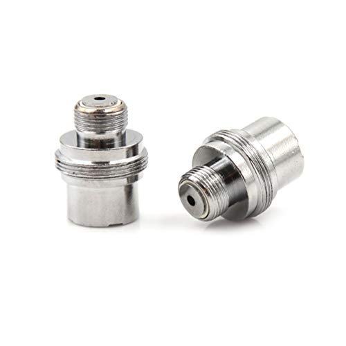 Gimax 2pcs/lot Stainless steel 510 To Ego Fitting Adapter Connector IStick 510 Turn Ego Adapter