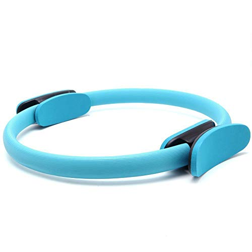 1PC Pilates Ring Pilates Ring Magic Circle Full Body Toning Fitness Hoher Widerstand Magic Ring für Stärke Flexibilität Posture und Sculpting-Blau