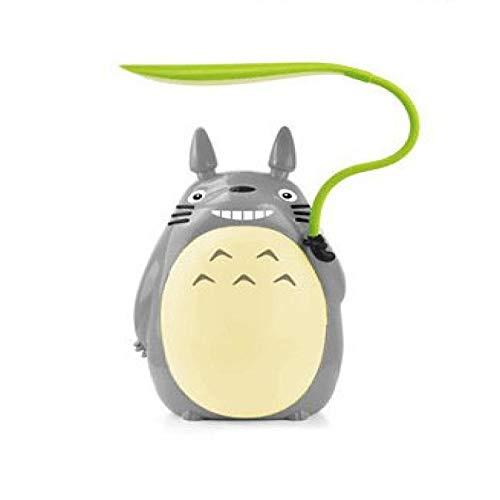 WWWL Lámpara Escritorio Cartoon Totoro Night Lights USB Charging Creative Animal Led Night Light Bedside Table Lamp for Children Kids Gift Room Decor Yellowbelly