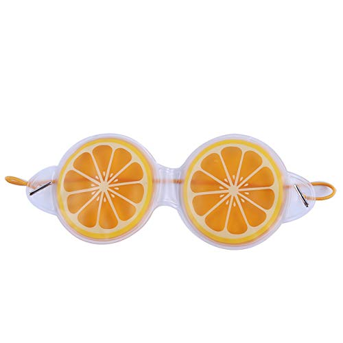 Bigsweety Fruchtgel EIS Augenmasken Entfernen Dunkle Kreise Entlasten Sie Die Müdigkeit Entlastung Kühlung Augenpflege Entspannung (Zitrone)