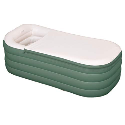 Baño Inflable PVC Plegable Adulto Inflable Portátil Bañera Inflable Bañera De Aire, Gruesa Y Cálida Adultos SPA Niños Piscina Inflable