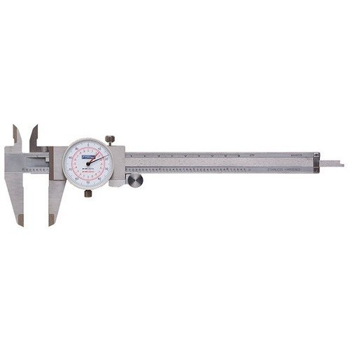 Fowler 52-030-006 Stainless メーカー直売 Steel Inch Metric Dial 店舗 Calip Reading