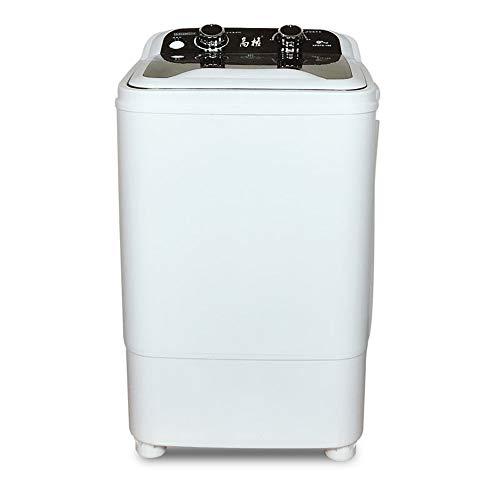 lavadora 8KG doméstica de Gran Capacidad de Lavado semiautomático, con una Cesta de Drenaje, Chaquetas/sábanas Lavables, etc. Lavado de 360 Grados