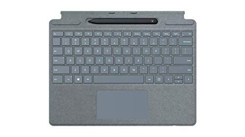 Microsoft Surface Pro X Cover - Alcantara + Pen, Azul