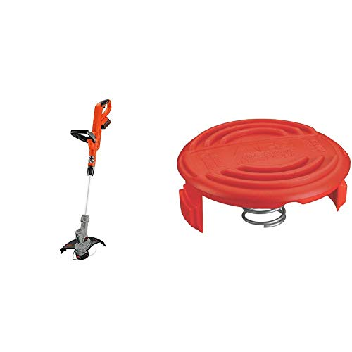 Review Of BLACK+DECKER 20V MAX String Trimmer with Trimmer Line Cap and Spring for AFS Trimmer (LST3...