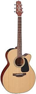 Takamine Pro Series 1 P1NC NEX Body Acoustic Electric Guitar with Case, Natural