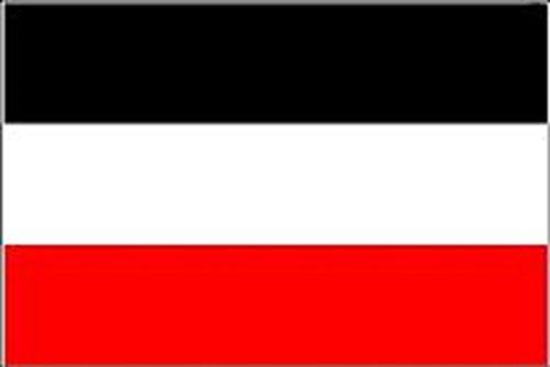 Kultflaggen und Motivfahnen USA Deutschland NATO EU 150 x 90 cm mit zwei Metallösen zur Befestigung und zum Hissen (Deutsches Kaiserreich)