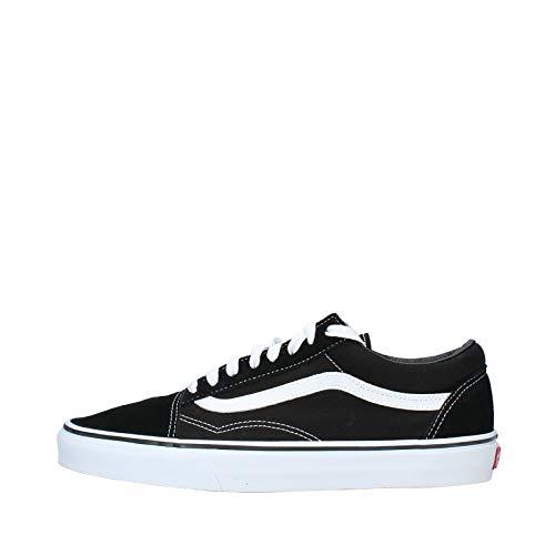 Vans Old Skool Sneaker, ols skool black/white, 7.0 US - 39.0 EU