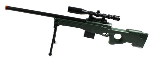 Velocity Airsoft l96 aw Spring Airsoft Gun (od Green), Full Scale,...