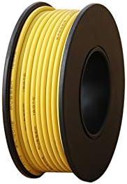 Flexibele siliconen draad E eacute;n rol 610m elektrische draad UL3132 24AWG Zachte Siliconen Isolator Stranded HookUp Wire TinNed Copper 300V 6 Kleuren voor DIY Speelgoed Lamp