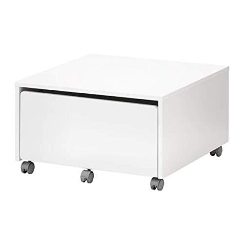 IKEA Slakt 803.629.74 - Caja de almacenamiento con ruedas (tamaño 24 3/8 x 24 3/8 x 13 3/4 pulgadas)