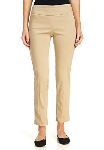 Zac & Rachel Women's Millenium Pull On Pants, Chino, 12