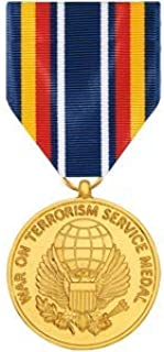 Medals of America Global War On Terrorism Service Medal Anodized